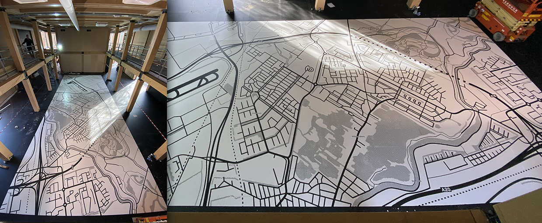 Floorgraphic 15x6mtr.